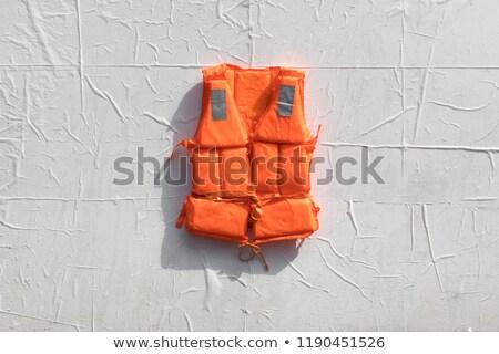 оранжевый · старые · спасательные · Vintage · объект - Сток-фото © hermione