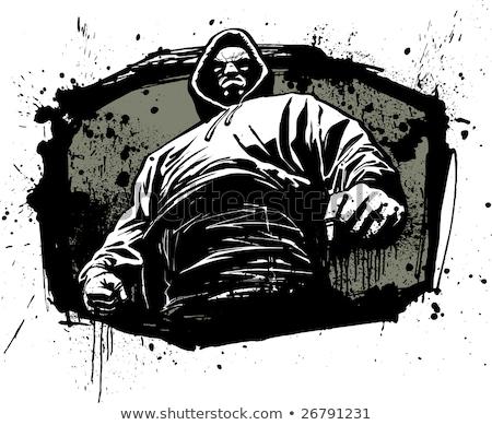 厳しい · 男 · 詳しい · クローズアップ · 肖像 - ストックフォト © arenacreative