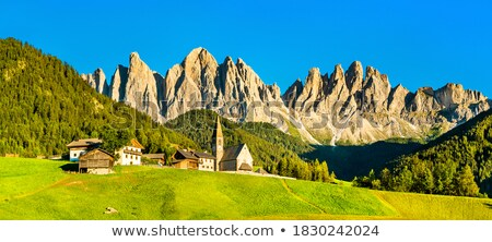 dolomites panorama Stock photo © Antonio-S