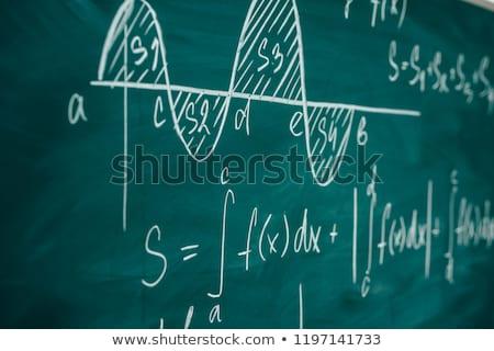 młodych · chemik · patrząc · pokładzie · piśmie - zdjęcia stock © pressmaster