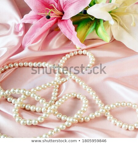 pearl passion with flowers Stock photo © dolgachov