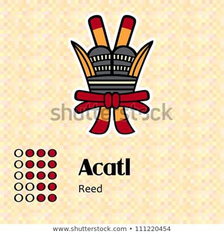 Aztec symbol Acatl Stock photo © sahua