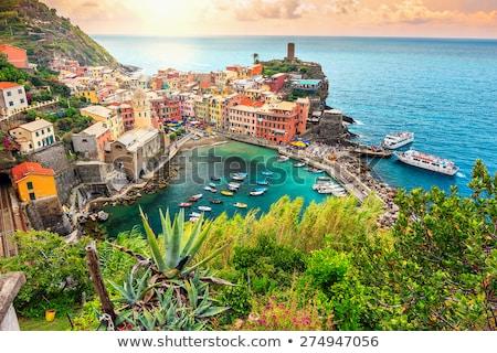 Tengerpart Olaszország nyár óceán zöld kék Stock fotó © fisfra