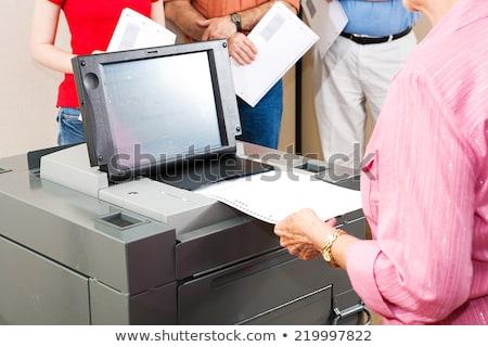 optyczny · skanować · głosowanie · maszyny · nowego - zdjęcia stock © lisafx