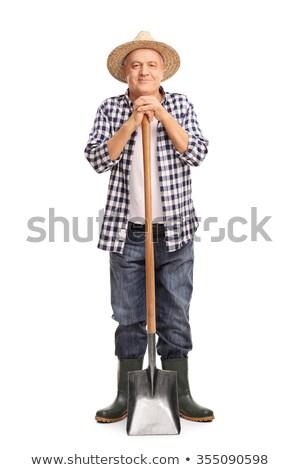 Man holding spade Stock photo © photography33