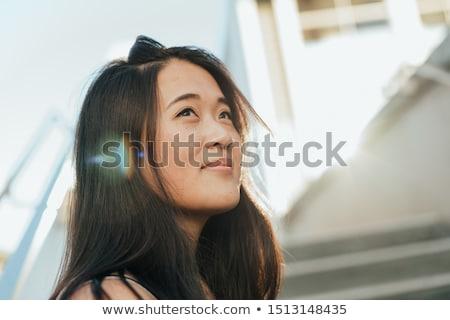 guardando · futuro · foto · giovani - foto d'archivio © feedough