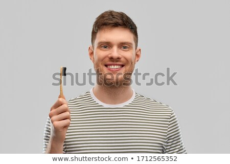 man with toothbrush stock photo © photography33