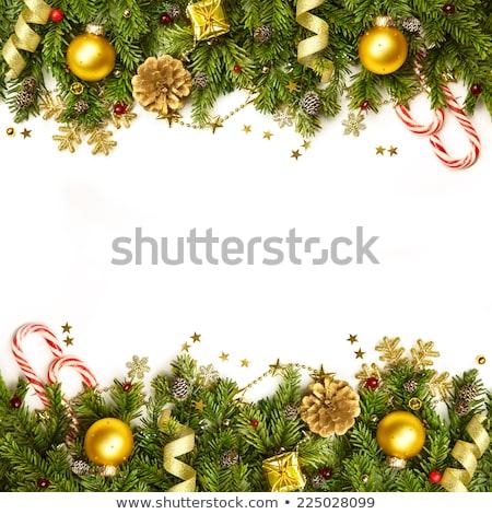 Christmas Decorations L Photo stock © Taiga