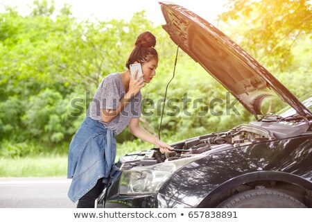 help for woman car breakdown stock photo © roboriginal