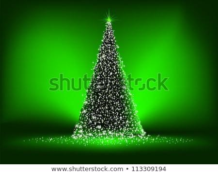 Verde natal eps vetor arquivo feliz Foto stock © beholdereye