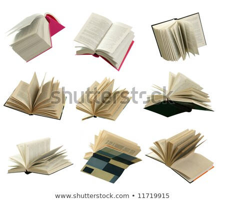 Nine open book stock photo © a2bb5s
