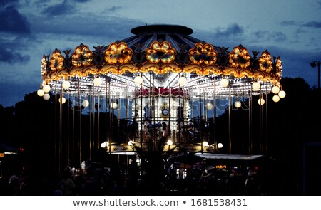 Carousel night shot Stock photo © franky242