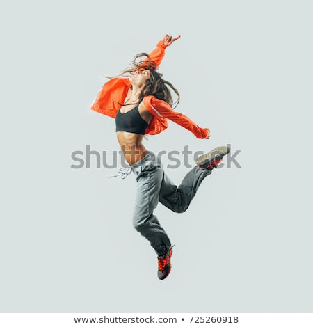 dancer jumping Stock photo © adam121
