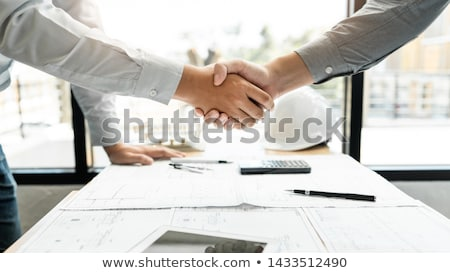 architects shaking hands stock photo © photography33