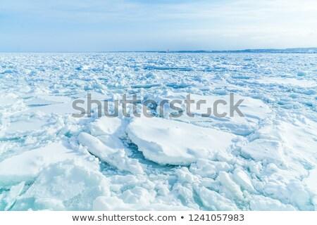 表示 フロント オーロラ 氷 海 ボート ストックフォト © photohome