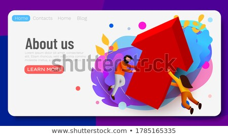 Business Team Growth Strategy Stock photo © Lightsource