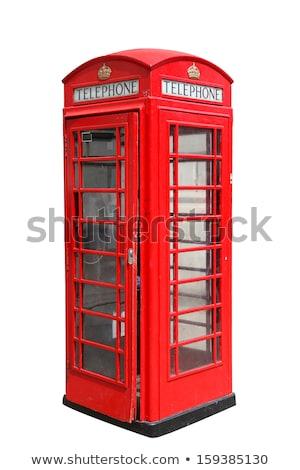 red London telephone box Stock photo © Snapshot