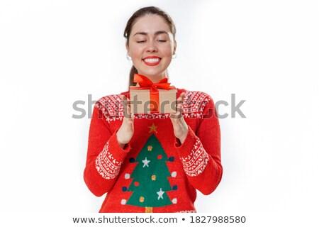 肖像 · 小さな · ビジネス女性 · 割引 · シンボル - ストックフォト © HASLOO
