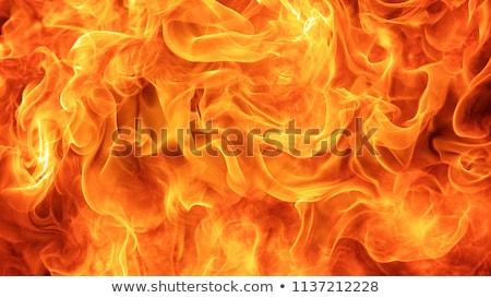 Fiamma rosso brucia fuoco primo piano usato Foto d'archivio © scenery1