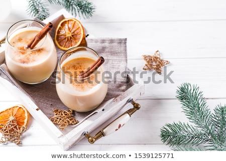 Canela norte americano Navidad favorito vidrio Foto stock © Allegro