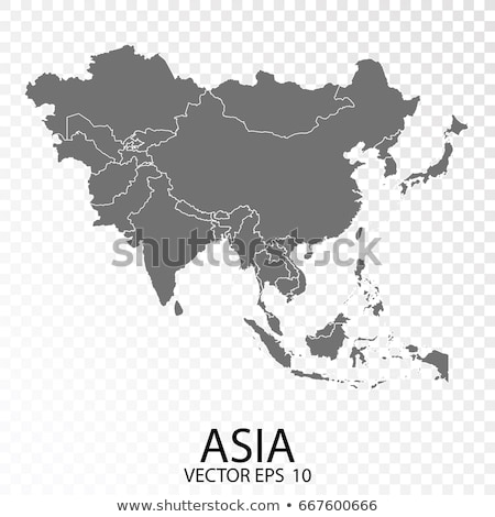 Asia map with Malaysia Stock photo © Ustofre9