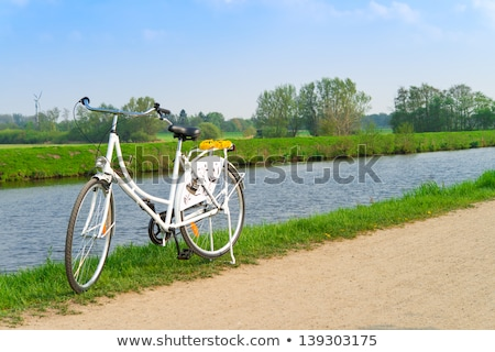 Bikes and lei flower wreath  Stock photo © Dar1930