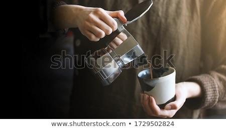 コーヒー · 古い - ストックフォト © SecretSilent