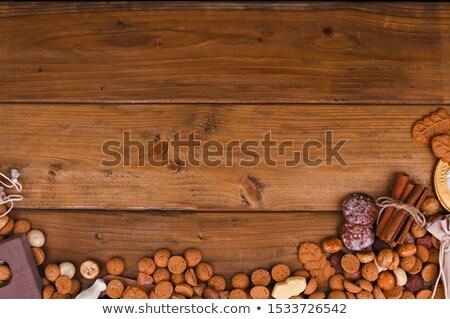 チョコレート · 手紙 · オランダ語 · パーティ · イベント - ストックフォト © hofmeester