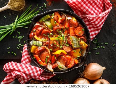 растительное · подготовленный · Открытый · гриль · Nice · продовольствие - Сток-фото © javiercorrea15