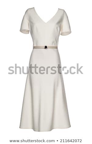 Long dress isolated on white Stock photo © Elnur
