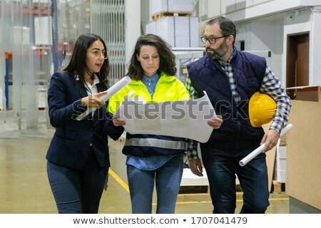 ki · építkezés · építkezés · nap · szemüveg · kód - stock fotó © reicaden
