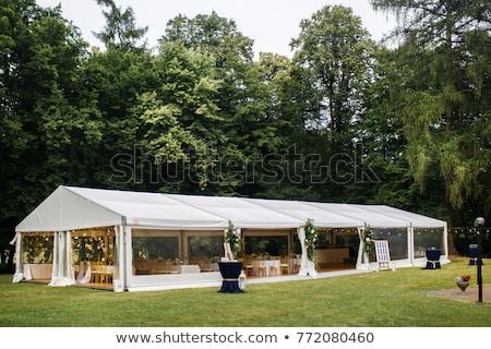 Stock photo: Marquee Tent