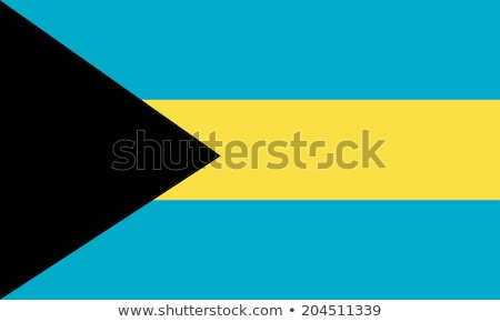 Flag of Bahamas Stock photo © creisinger
