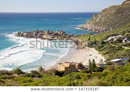 Beach of Llandudno, Cape Town Stock photo © dirkr