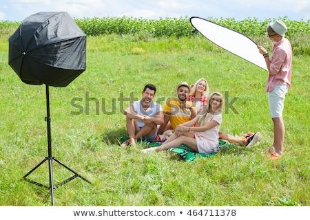 Stock photo: Summertime photo shoot