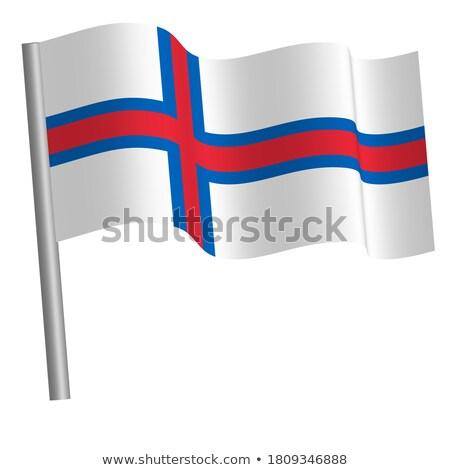 Miniature Flag of Faroe Island stock photo © bosphorus