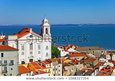 Santo Estevao church in Lisbon Stock photo © rognar