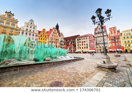 Wroclaw, Poland in Silesia region. The market square Stock photo © photocreo