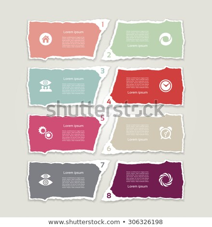 Feedback Torn Paper Concept Stock photo © ivelin
