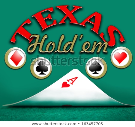 Stok fotoğraf: Poker Texas Holdem
