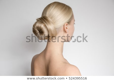 Skincare Woman Hair Bun stock photo © Stephanie_Zieber