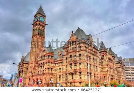Toronto velho cidade ouvir pormenor relógio Foto stock © aladin66