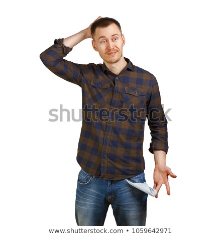 Sad man holding his hands in pocket Stock photo © feedough