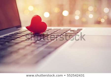 Online Dating Button on Computer Keyboard. Stock photo © tashatuvango