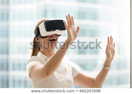 Wow cliente experiência 3D gerado quadro Foto stock © flipfine