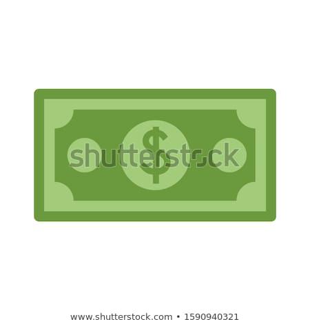 Verde dollari economia grigio Foto d'archivio © 3mc