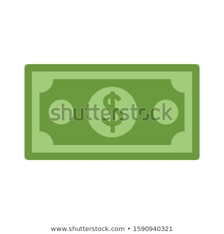 Groene dollar economie grijs Stockfoto © 3mc