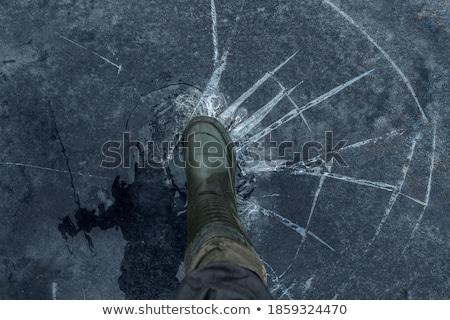 on thin ice stock photo © njnightsky
