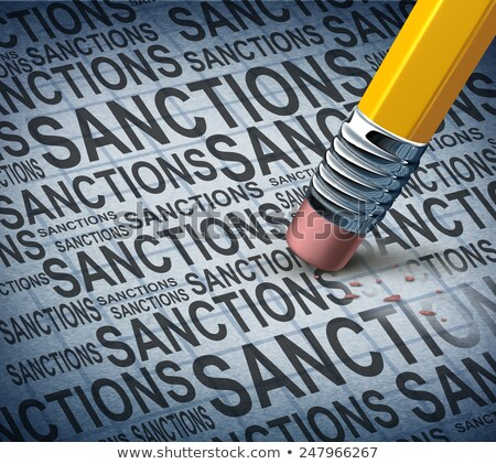 Lfting Sanctions Stock photo © Lightsource