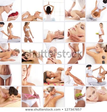 tratamento · conjunto · tradicional · estância · termal · terapia - foto stock © aza